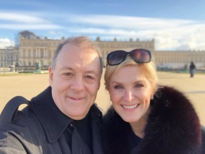 Tanya and Pete Foster at Versailles