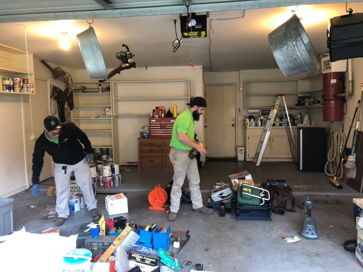 Green Army can do garage clean outs and much more in addition to pest services.