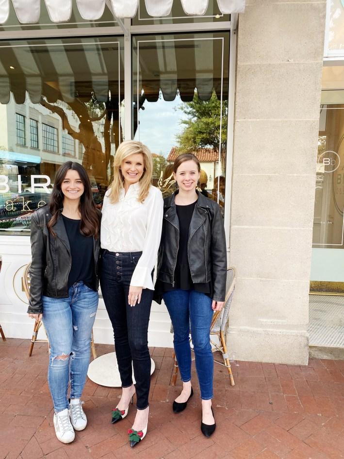 Kaitlyn Pettibon, Tanya Foster and Laura Pearson