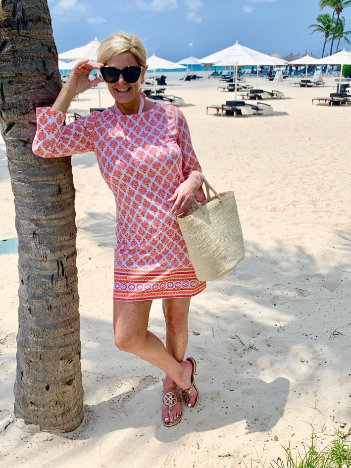 What I wore on vacation in Aruba
