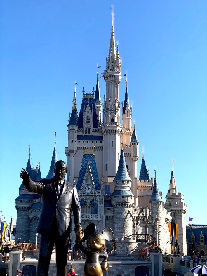 The castle at the Magic Kingdom in Walt Disney World