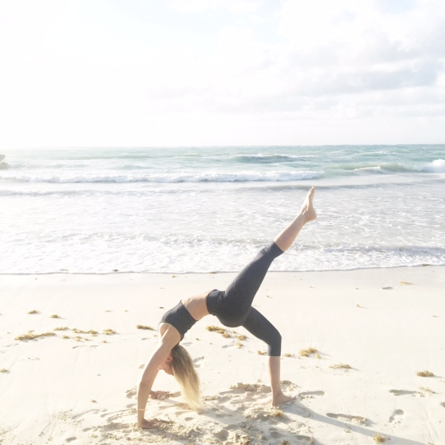 Courtney Bier shares her yoga transformation on TanyaFoster.com
