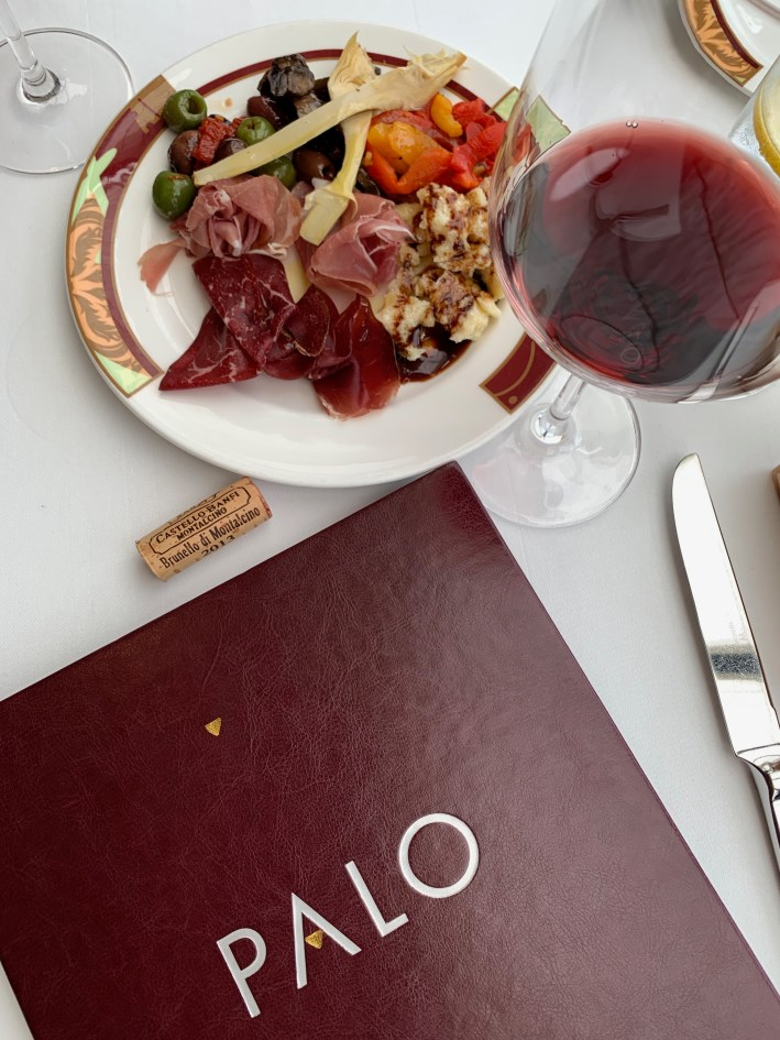 Top 10 Reasons to Book a Disney Cruise to Alaska featured by top US travel blogger, Tanya Foster: image of Dining at palo on the Disney Wonder