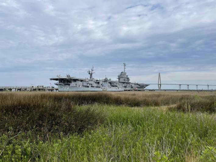 USS Yorktown and patriots Point