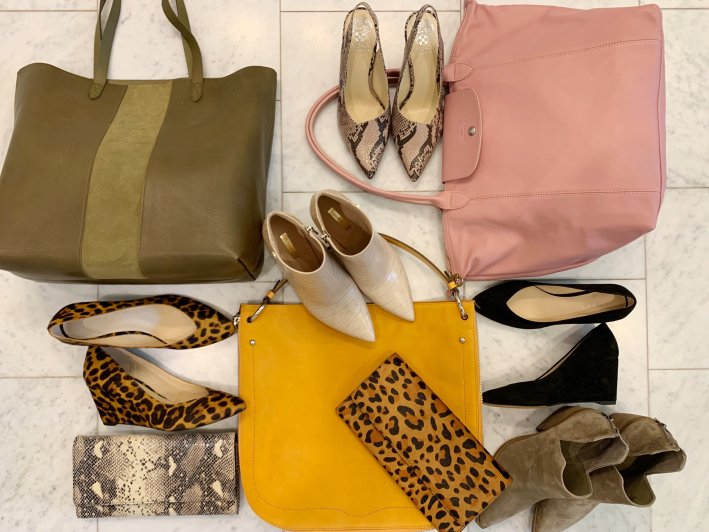 Top US fashion blogger, Tanya Foster shops the Nordstrom Anniversary Sale: image of Nordstrom Anniversary Sale shoes and handbags