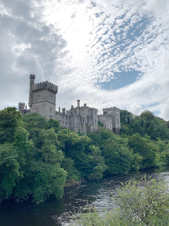 Lismore Castle, Ireland | 8 Reasons to travel to Ireland now! by popular Dallas travel blogger, Tanya Foster: image of LIsmore castle in Ireland.