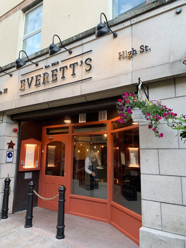 Everett's in Waterford, Ireland | 8 Reasons to travel to Ireland now! by popular Dallas travel blogger, Tanya Foster: image of Everett's in Ireland.