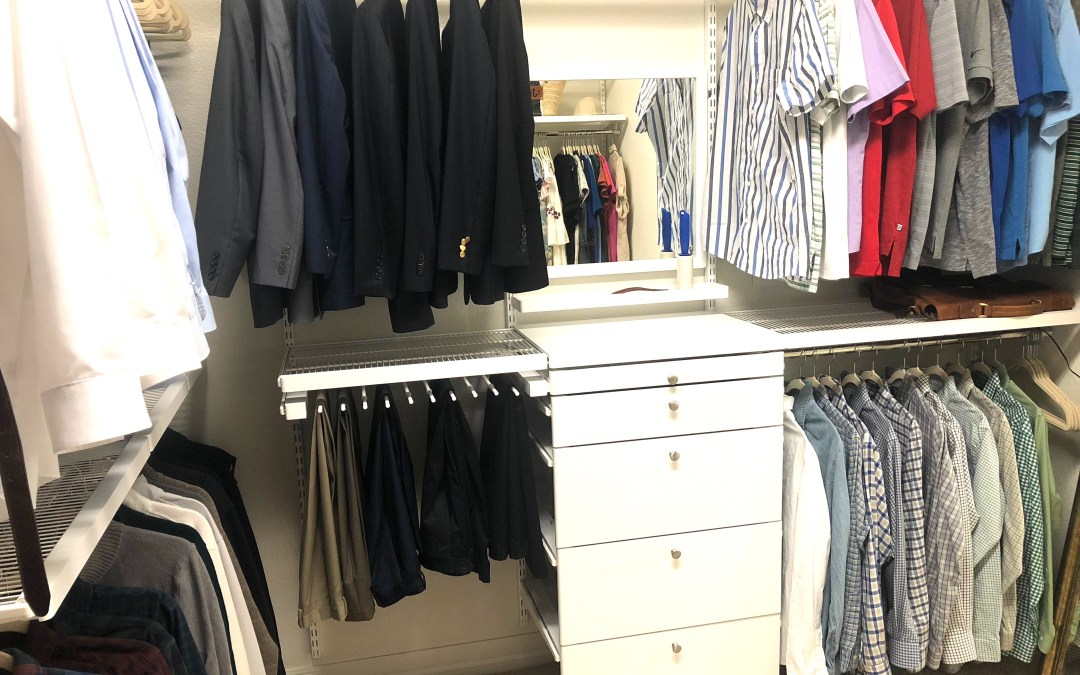Make your closet space more functional with The Container Store