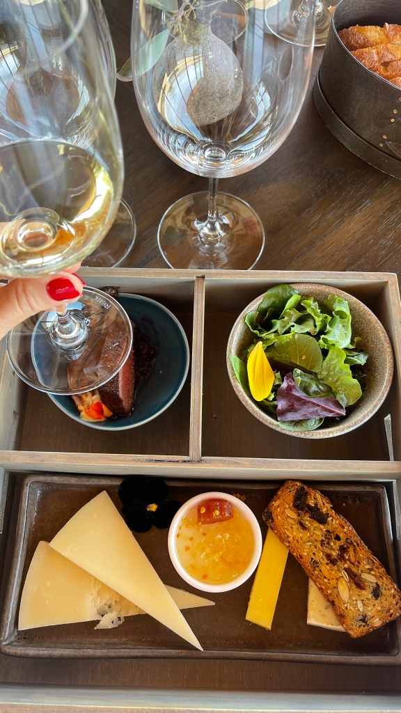 Jordan Winery Estate Tour tasting