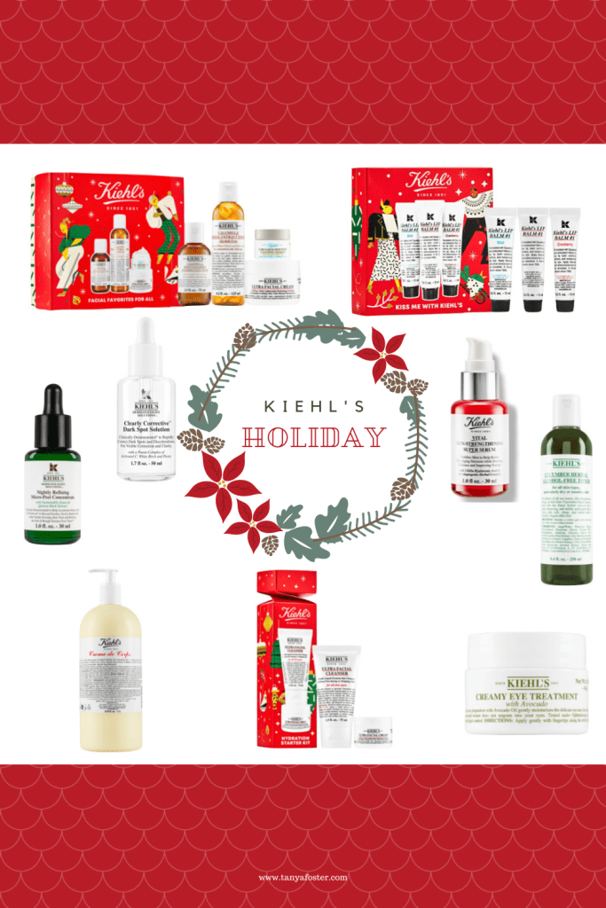give the gift of kiehl's holiday gift products