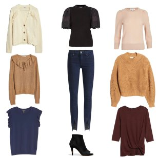Lightweight Sweaters for Fall Transition Season