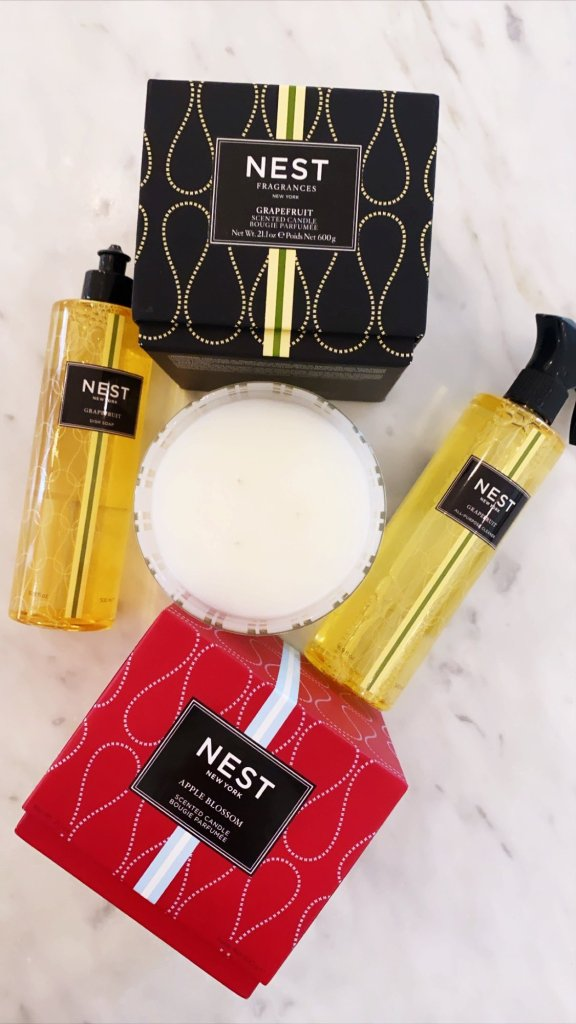 Nest candles multi purpose cleaners and dish soap