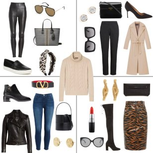 Cashmere Cable Knit Sweater Four Ways