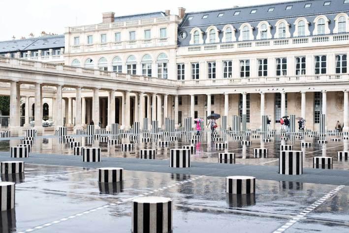 Palais Royal in Paris France