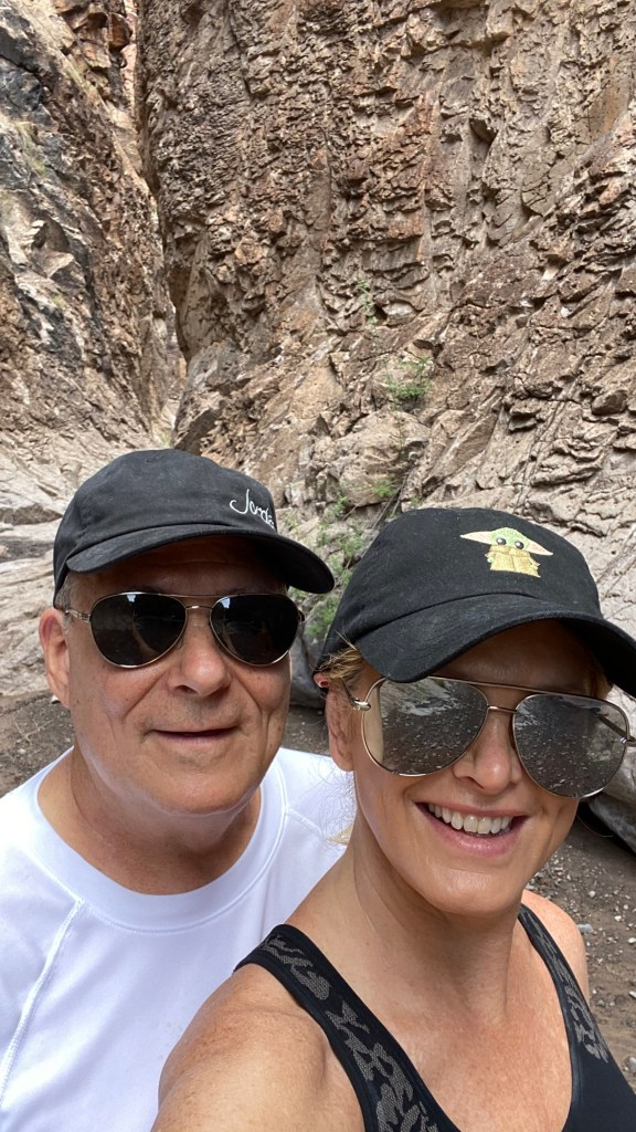 Pete and Tanya in Big Bend Ranch State Park