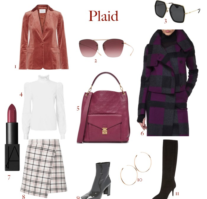 How to incorporate plaid into your fall wardrobe