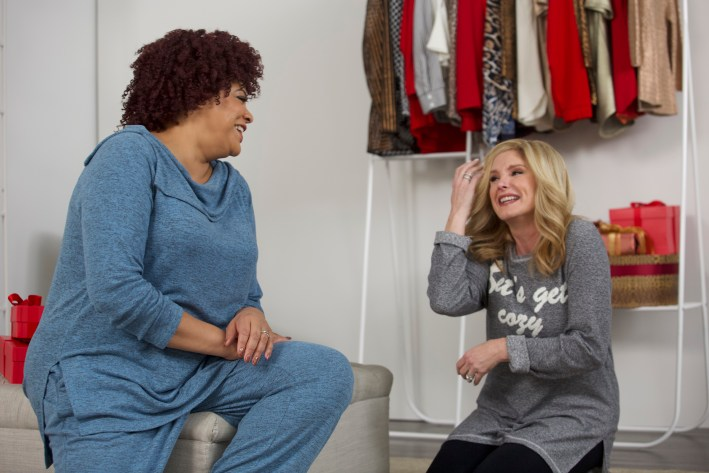 Tanya Foster and Kim Coles show how to be chic during the holidays with Chico's.