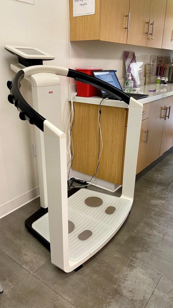SECA machine for the Metabolic Body Program