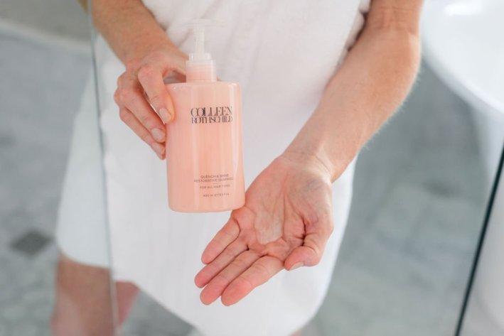 Quench and shine restorative shampoo