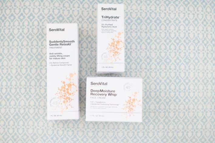 serovital beauty products suddenlysmooth gentle retinall deepmoisture recovery whip trihydrate concentrate
