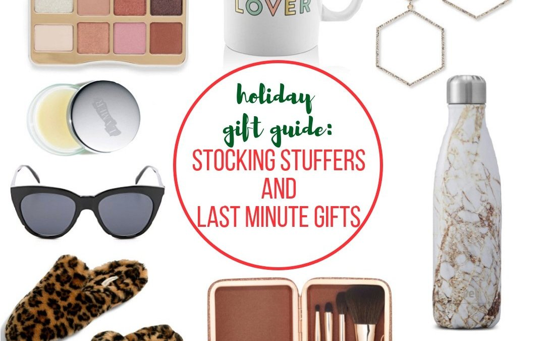 Stocking Stuffers and Last Minute Gifts