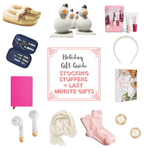 Where to find the best stocking stuffers and last minute gifts this holiday season!