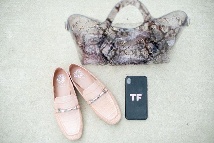 Vince Camuto shoes and handbag