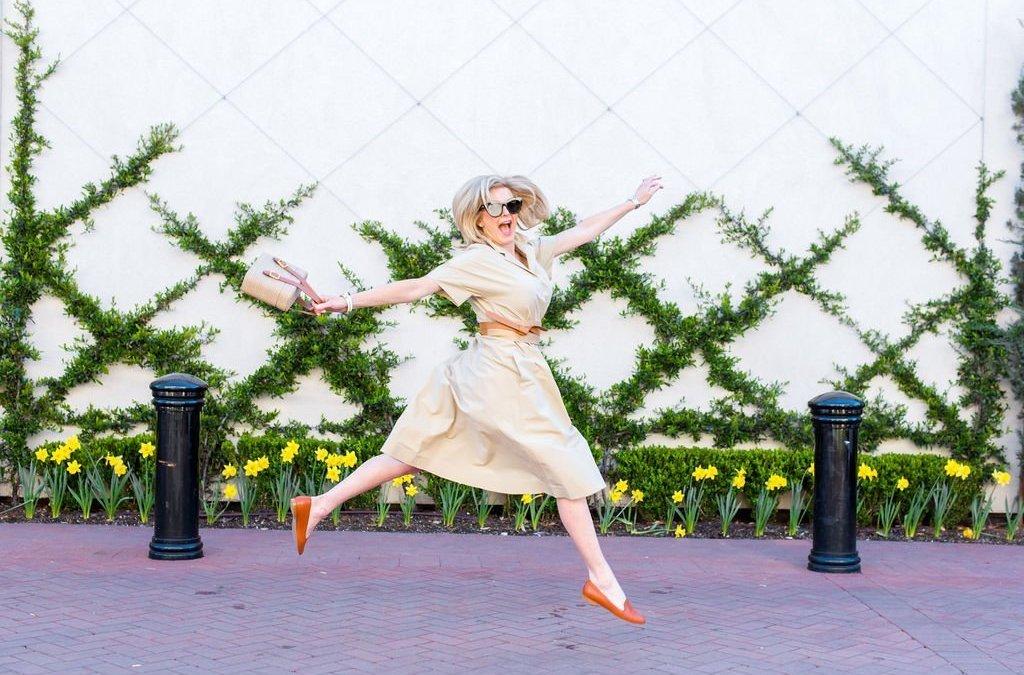Effortless Style | Lafayette 148 Dress + Officina del Poggio