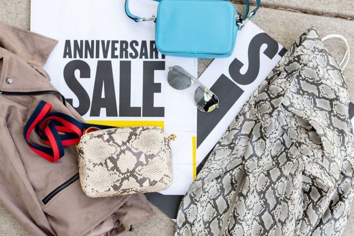 Top US fashion blogger, Tanya Foster shops the Nordstrom Anniversary Sale