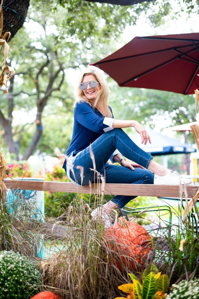 10 Things to do at the Texas State Fair! by popular Dallas blogger, Tanya Foster: image of a woman at the Texas State Fair.