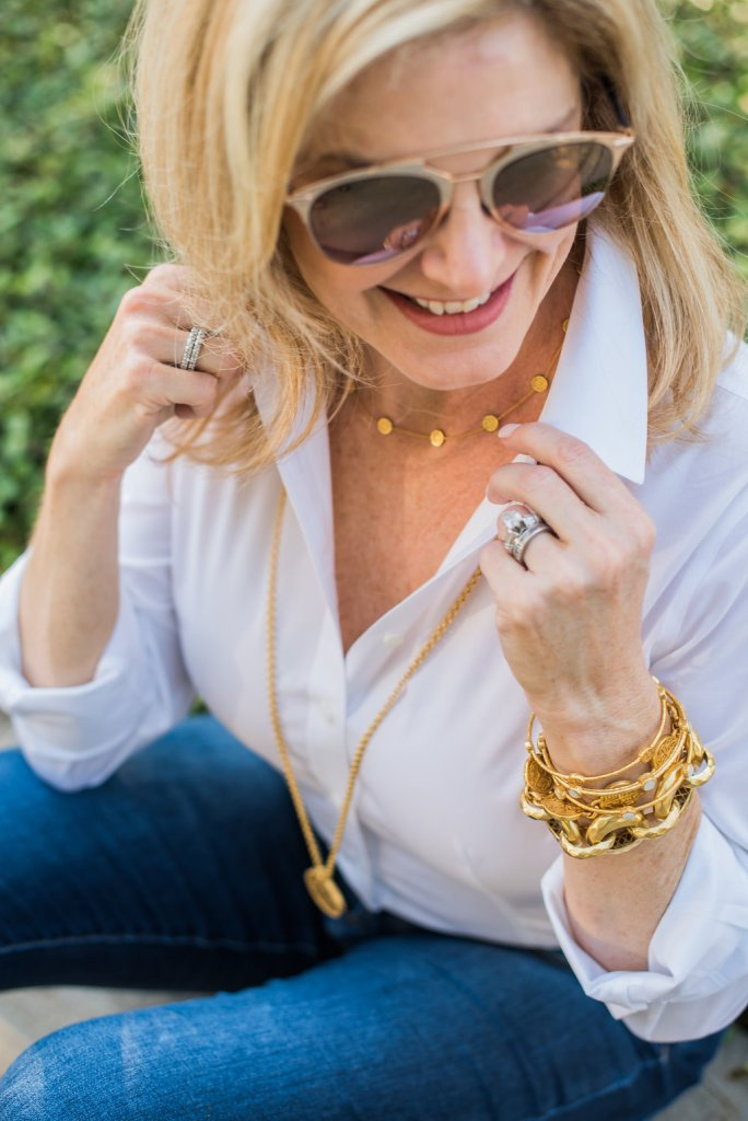 The wearable luxury of Julie Vos jewelry.