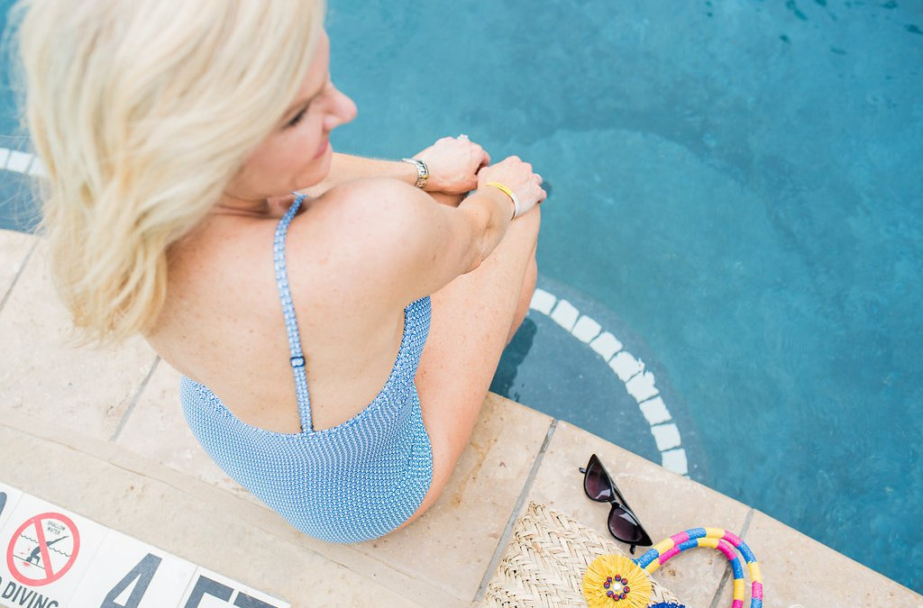 One piece swimsuits and cover ups