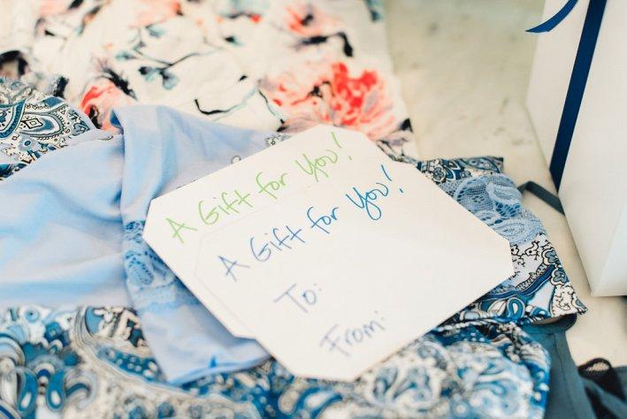 Bridesmaids gifts with Soma, pajamas and robes, wedding