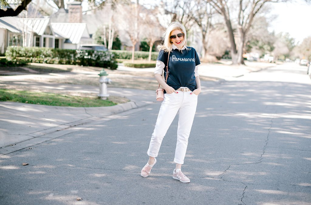 How to dress up or dress down a printed t-shirt
