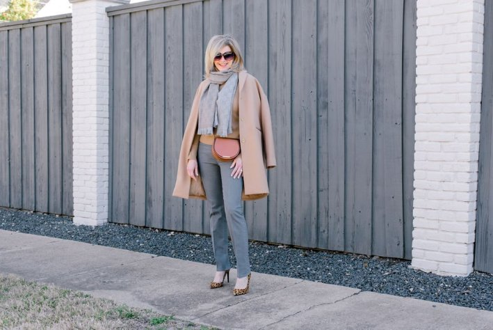 Piecing together staples from my closet to create a new look and get out of my wardrobe rut.