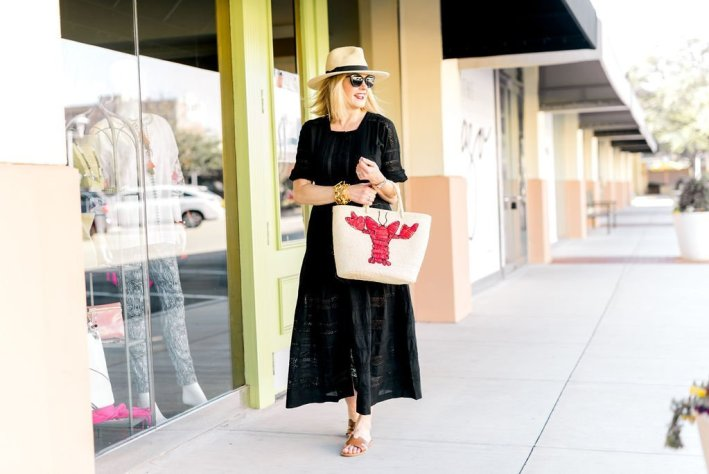 2 Ways to Wear Black Dress for Spring