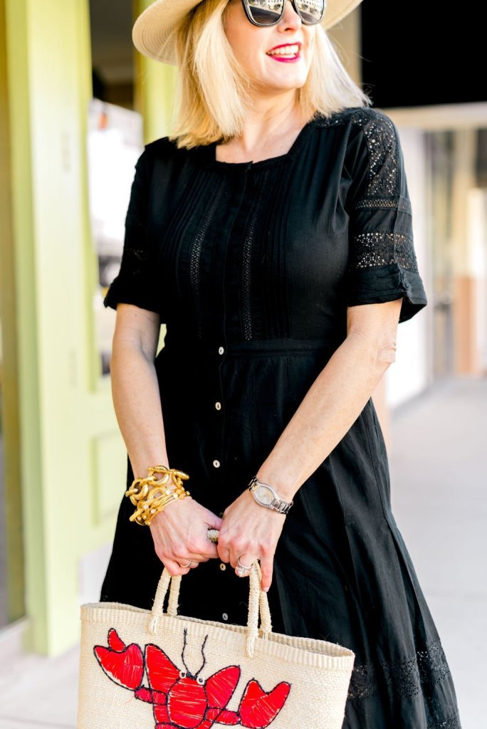 2 Ways to Wear Black Dress for Spring