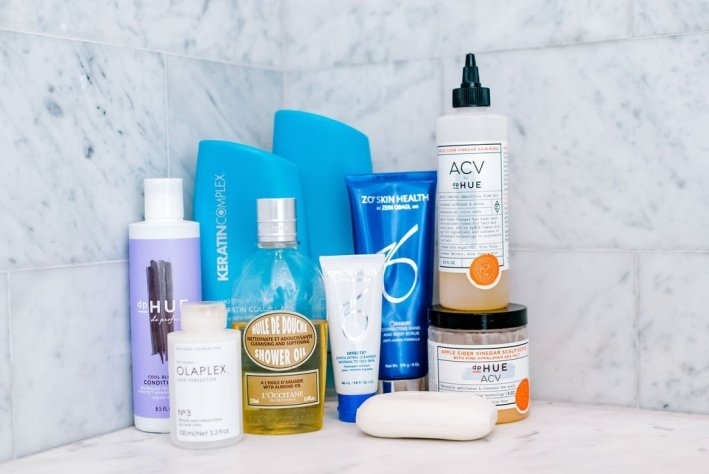 Tanya Foster Favorite Shower Products