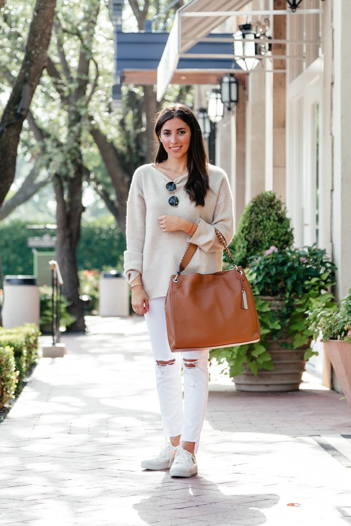 How to wear white after Labor Day on TanyaFoster.com with Nordstrom