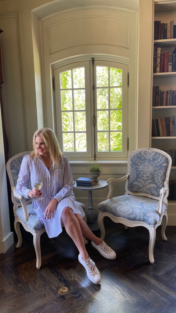 Tanya Foster in the Jordan Library