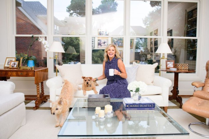 Tanya Foster with pets