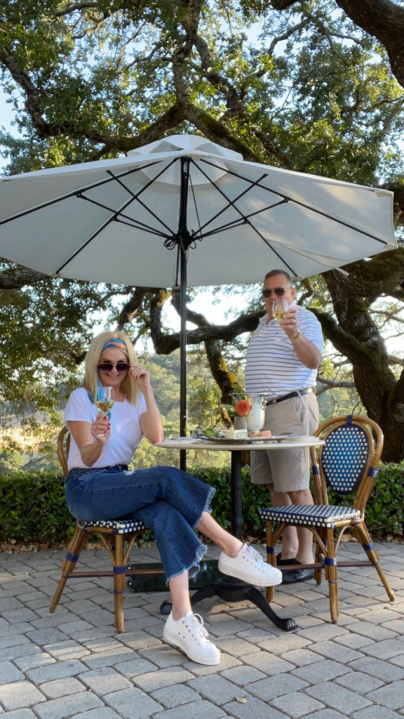 Tanya and Pete Foster at Jordan Winery