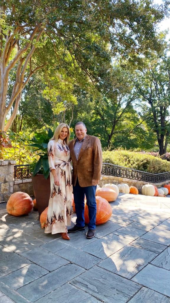 Tanya and Pete Foster at Dallas Arboretum