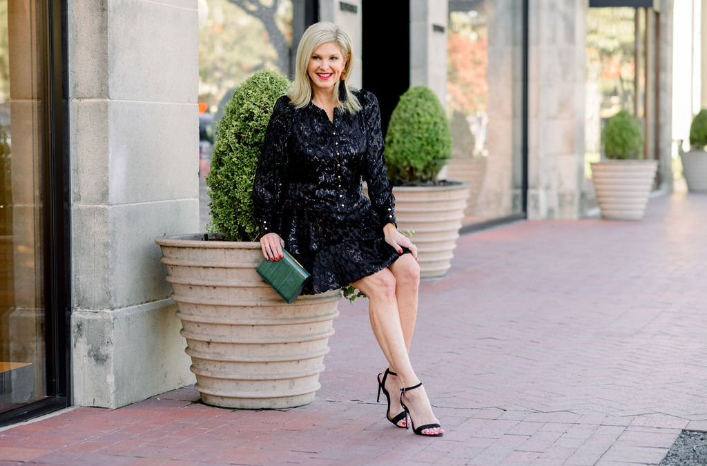 The perfect holiday dress for no matter where you go