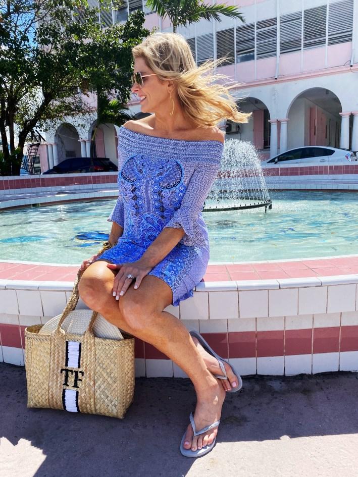 Tanya Foster in Nassa, Bahamas