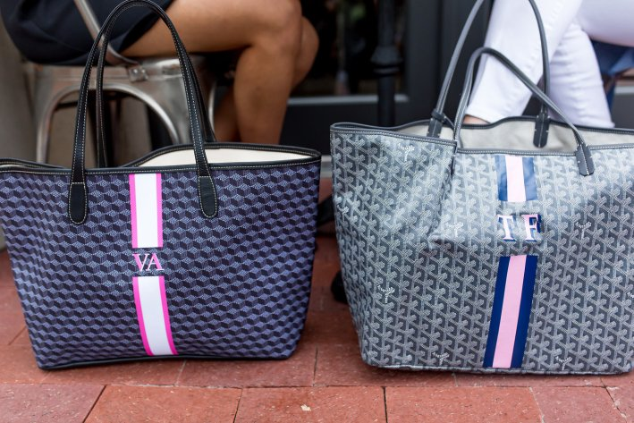 Meet my summer intern Victoria and find out our strategy for the Nordstrom NSale 2017 | 5 Best Designer Bags to Invest in and What's in my Bag by popular Dallas fashion blogger, Tanya Foster: image of two Barrington St. Anne totes.