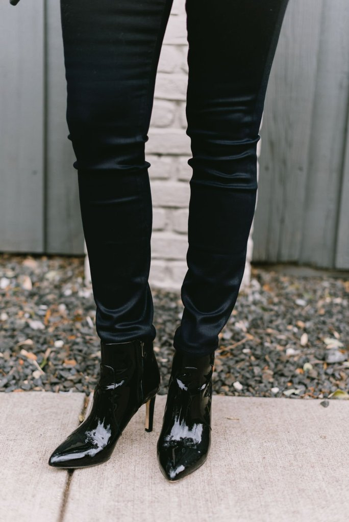 Chic coated Parker Smith skinnies