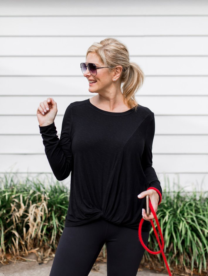 3 ways to wear your leggings. Zella leggings from Nordstrom