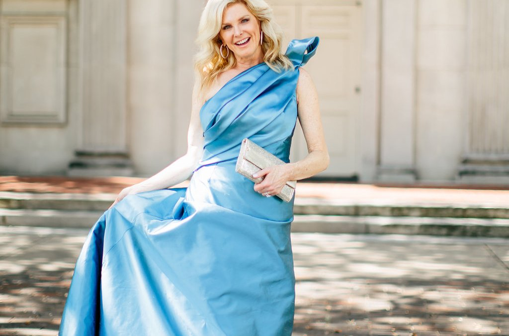 Wedding: Patti Flowers Designs Mother of the Bride Dress