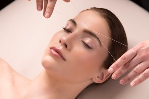 The Spa at The Joule - Brow Threading